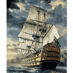 Majestic Ship - Paint by Numbers Sailing Ships