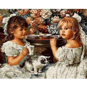 Two Angels - DIY Painting By Numbers Kit