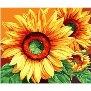 The Sunflowers - Sunflower Paint by Numbers for Adults