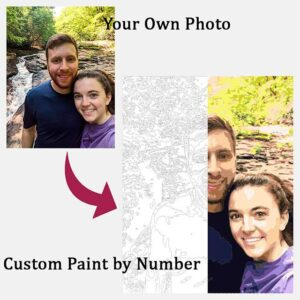Custom Painting by Numbers from Photo