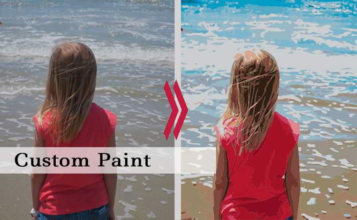 Custom Paint by Numbers Kits