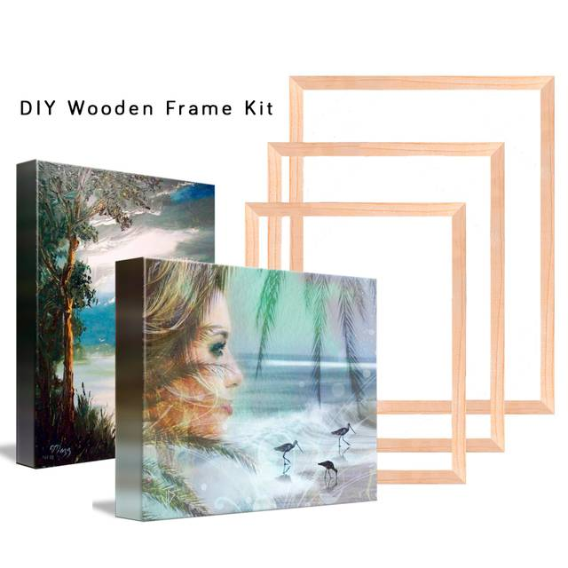 DIY Wooden Frame for Painting by Numbers