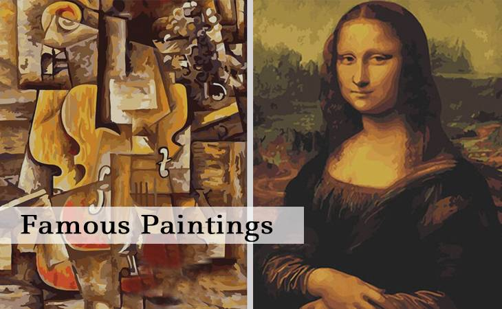 Famous Paintings Paint by Numbers for Adults