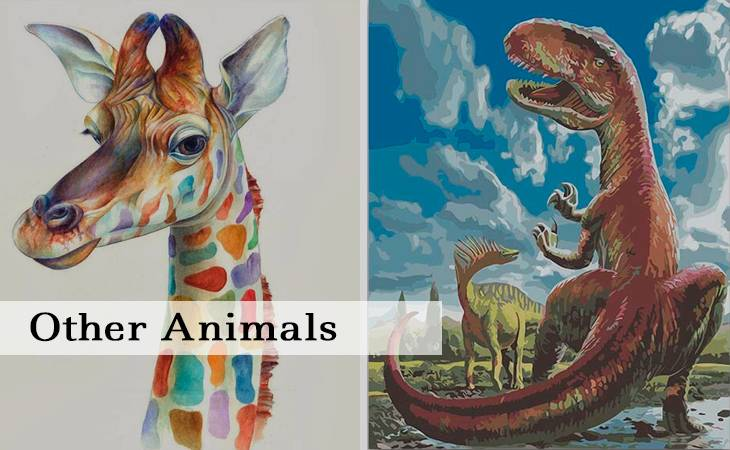 Other Animals Paint by Numbers