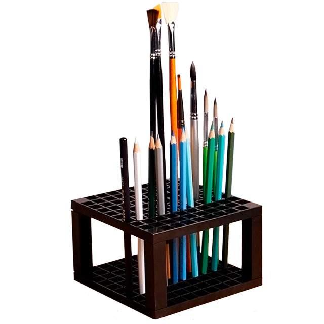 96 Hole Plastic Paintbrushes Holder