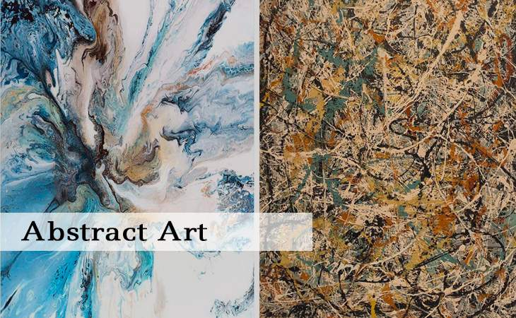 Abstract Art - DIY Paint by Numbers
