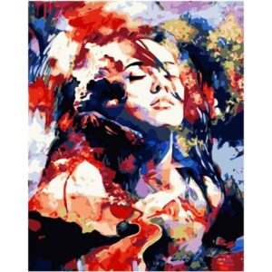 Abstract Female Figure - Oil Paint by Number Kit