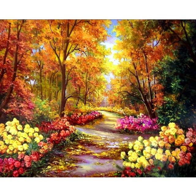 Autumn Forest - Paint By Numbers Kits