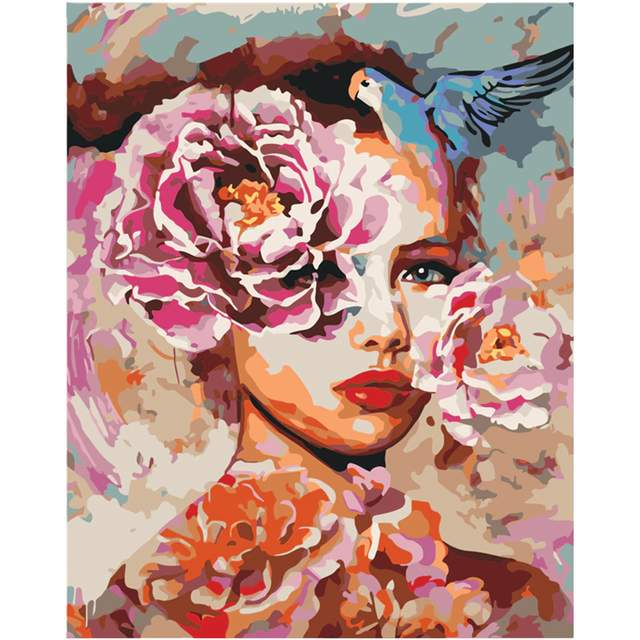 Fantasy Lady - DIY Acrylic Painting by Numbers Kit