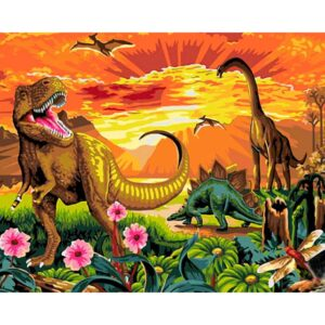Jurassic Park - Paint By Number kit
