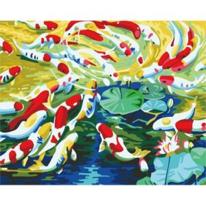 Koi Fish - Painting by Numbers Kit