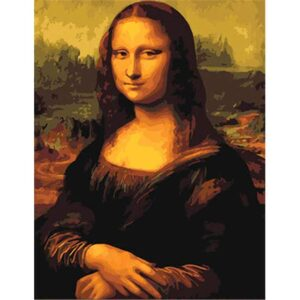 Mona Lisa by Leonardo da Vinci - DIY Paint By Numbers Kit