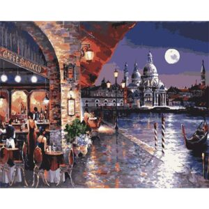 Venetian Evening Italy - Oil Paint by Numbers Kit