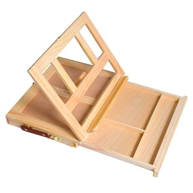 desktop easel for painting canvas