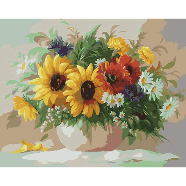 Autumn Bouquet - Beautiful Painting by Numbers