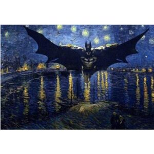 Batman Starry Night - Movie Paint by Numbers Kit