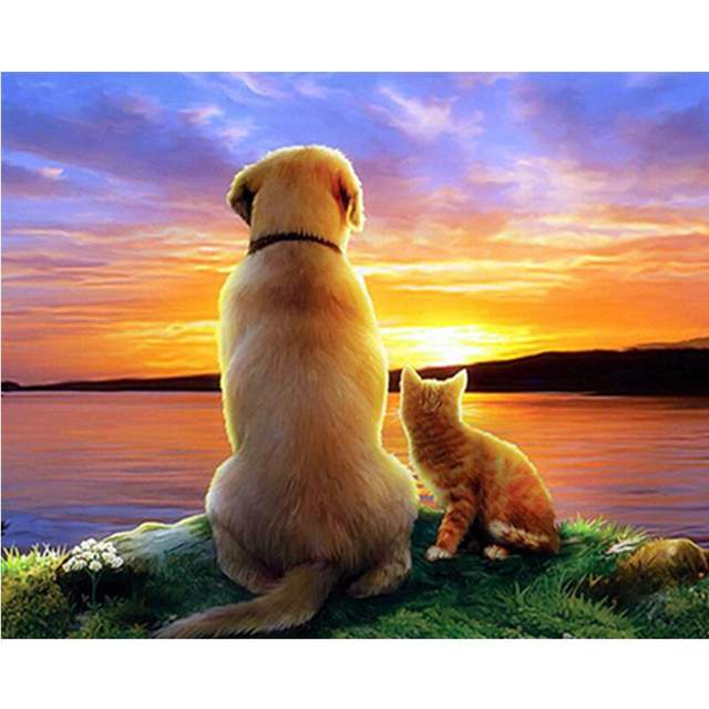 Best Friends Pets - Painting by Numbers for Adults