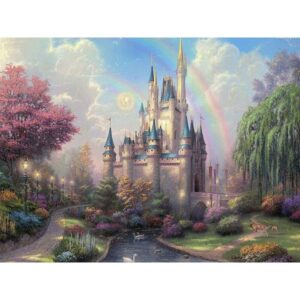 Cinderella's Castle - Paint by Numbers Kit