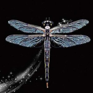 Diamond Dragonfly - Paint by Numbers for Sale