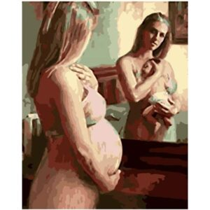 Dream in the Mirror Painting by Numbers for Adults
