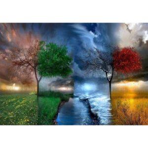Four Seasons - DIY Best Paint by Numbers Kit