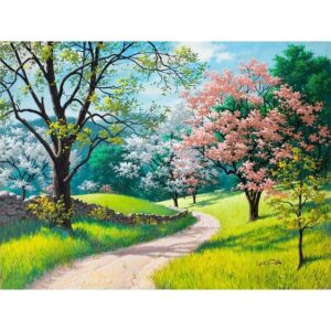 Garden Path - Painting by Numbers Kits