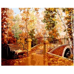 - Landscape Painting by Numbers Kit