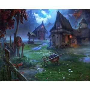 House in a Fairy Forest - Color by Numbers for Kids