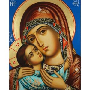 Icon Vladimir Mother of God - Paint by Numbers Kit