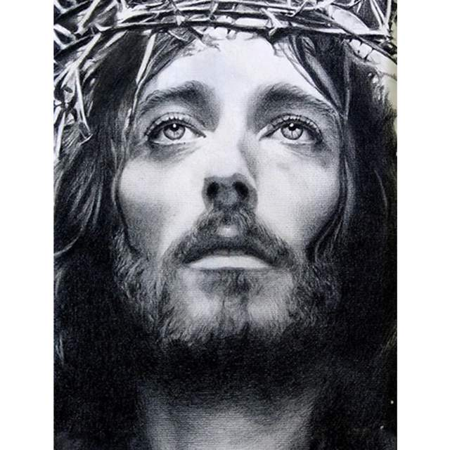Jesus Christ in a Crown of Thorns - Paint by Numbers Kit