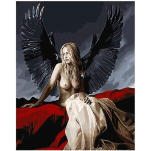 Mystery Angel - Painting by Numbers
