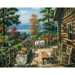 Nordic Summer Evening Painting by Numbers Kit