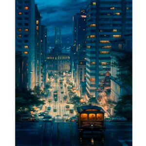 San Francisco City Skyline - Paint by Numbers for Adults