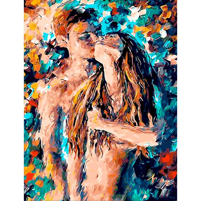 Sexy Couple Acrylic - Painting by Numbers for Adults