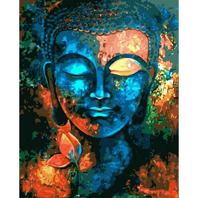 Spiritual Zen of Buddha - DIY Paint by Numbers for Adults