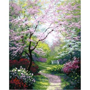 Spring Garden - Acrylic Painting by Numbers Kits