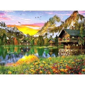 Summer in Alaska - Painting by Numbers for Sale