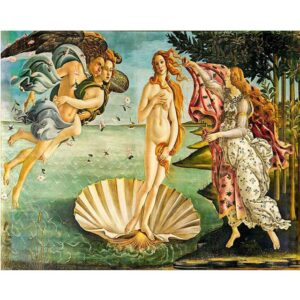 The Birth of Venus by Sandro Botticelli - Oil Painting by Numbers for Adults