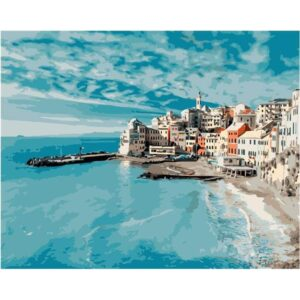 The French Riviera - Seascape Painting by Numbers Kit