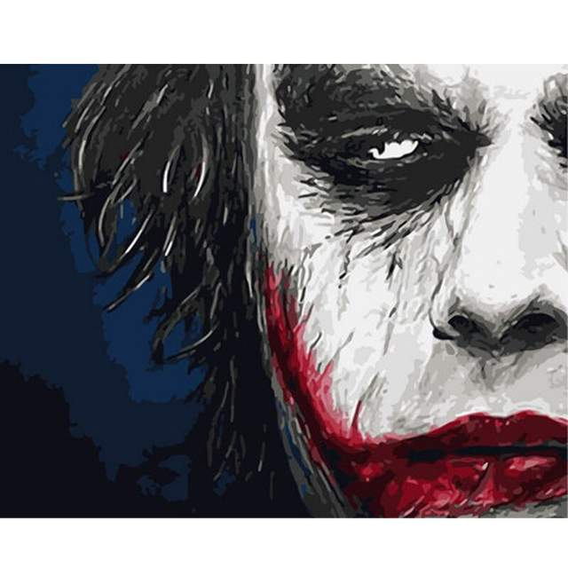 The Joker - Best Painting by Numbers Kit