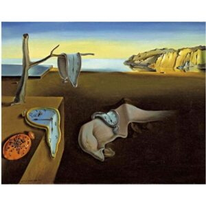 The Persistence of Memory by Salvador Dali - Paint by Numbers