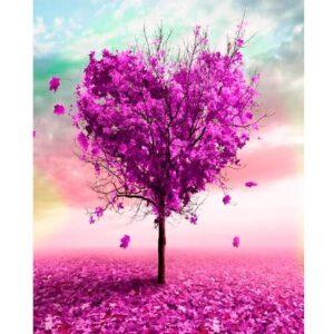 The Tree of Love - Acrylic Paint on Canvas Kit