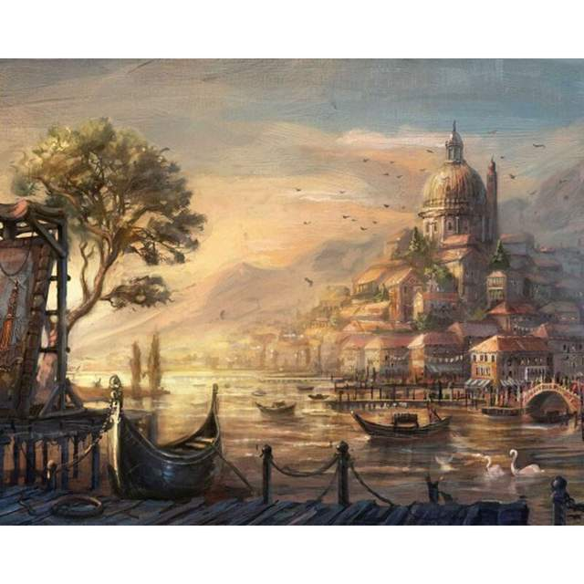 Venice in the Renaissance - Cities Coloring by Numbers