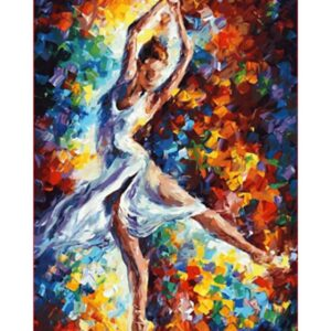 Woman Dancing Alone - Paint by Numbers Dancer
