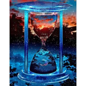 Hourglass at Evening Twilight - Paint by Numbers Kit