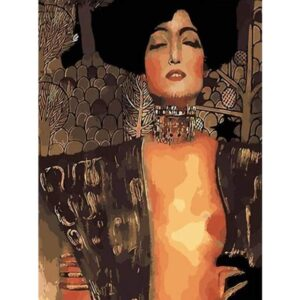 Judith and the Head of Holofernes by Gustav Klimt 1901 - Famous Paint by Numbers