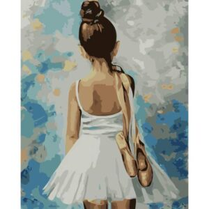 Little Ballerina - Color by Numbers for Adults