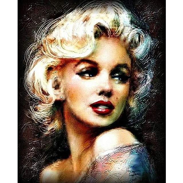 Marilyn Monroe - Famous People Paint by Number