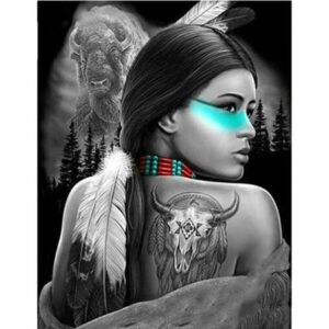 Native Indian American Spirit - Paint by Numbers People