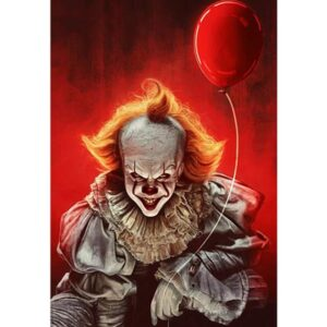 Pennywise It - Film Paint by Numbers